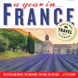 A Year in France Page-A-Day Calendar 2017 - cover