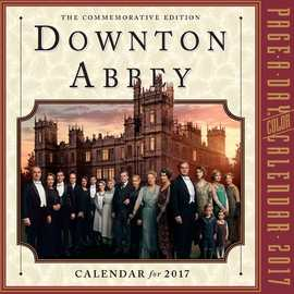 Downton Abbey Page-A-Day Calendar 2017 - cover