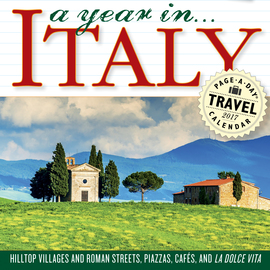 A Year in Italy Page-A-Day Calendar 2017 - cover