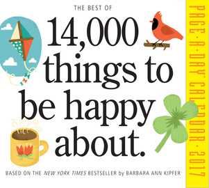The Best of 14,000 Things to Be Happy About Page-A-Day Calendar 2017 - cover
