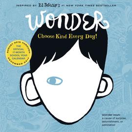 Wonder Calendar 2017 - cover