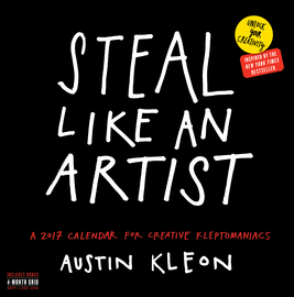 Steal Like an Artist Wall Calendar 2017 - cover