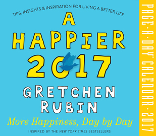 A Happier 2017 Page-A-Day Calendar - cover