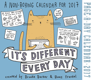 It's Different Every Day Page-A-Day Calendar 2017 - cover