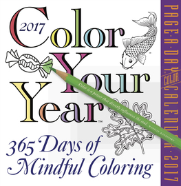 Color Your Year Page-A-Day Calendar 2017 - cover
