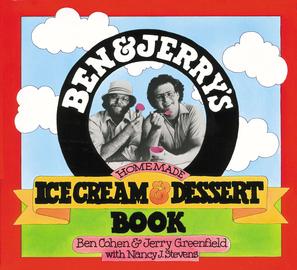 Ben & Jerry's Homemade Ice Cream & Dessert Book  - cover