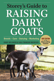 Storey's Guide to Raising Dairy Goats, 4th Edition - cover