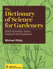 The Dictionary of Science for Gardeners - cover