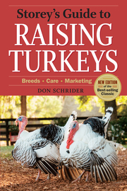 Storey's Guide to Raising Turkeys, 3rd Edition - cover