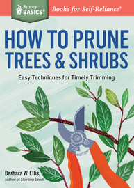 How to Prune Trees & Shrubs - cover