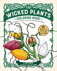 The Wicked Plants Coloring Book - cover