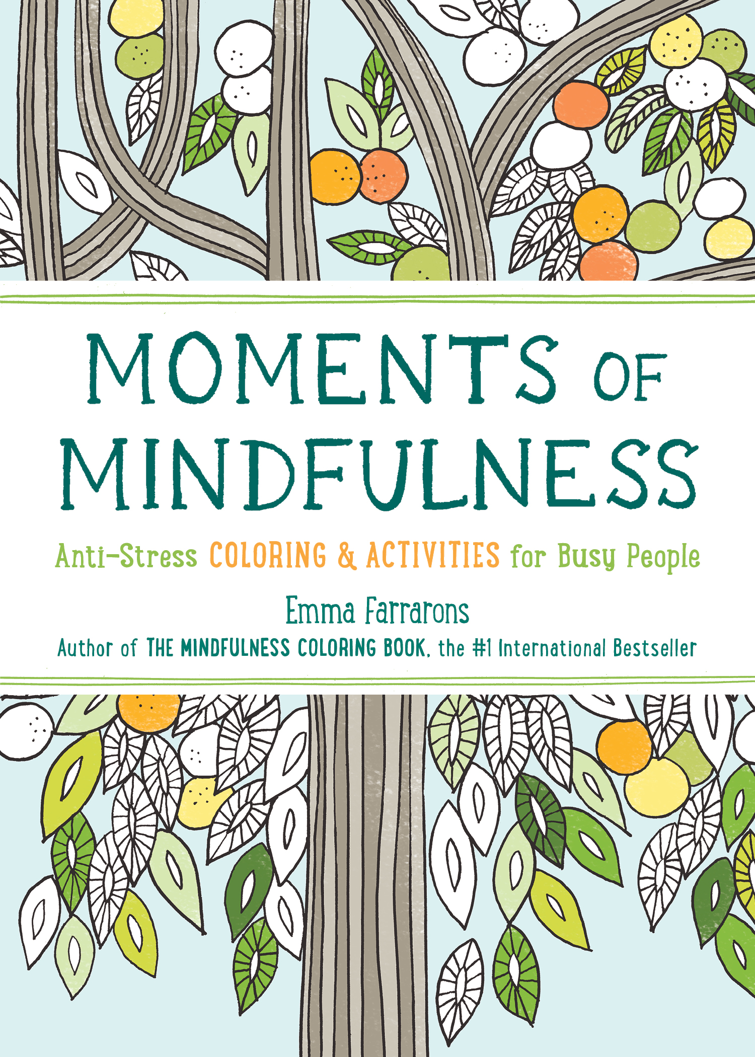 San Francisco Book Review Mindfulness Coloring Series Two Counter Displays Available
