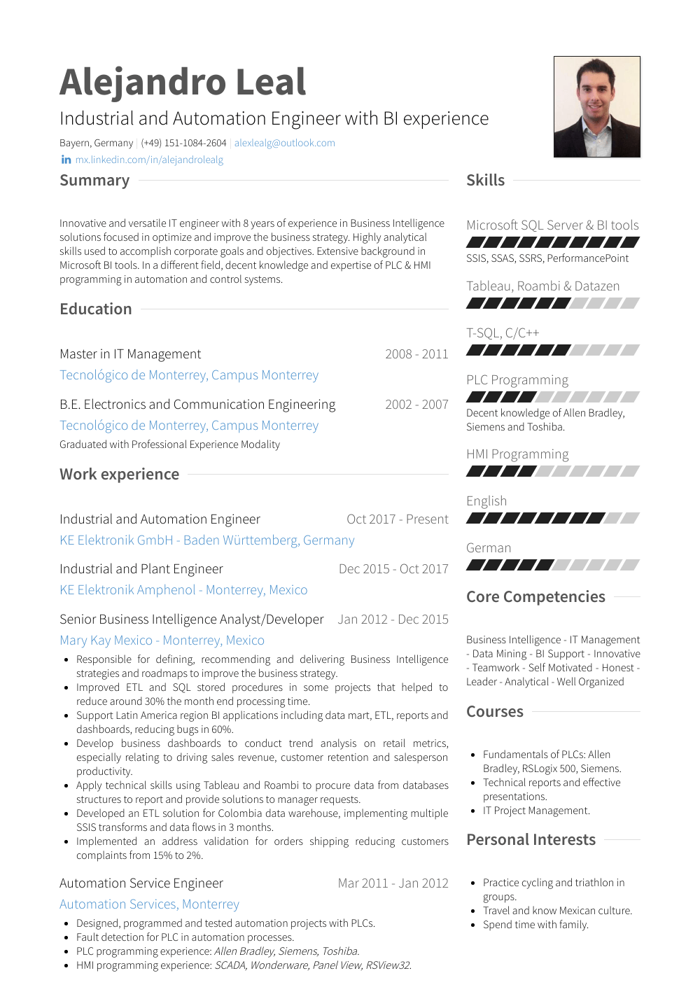 Business Intelligence Analyst Resume Samples Amp Templates