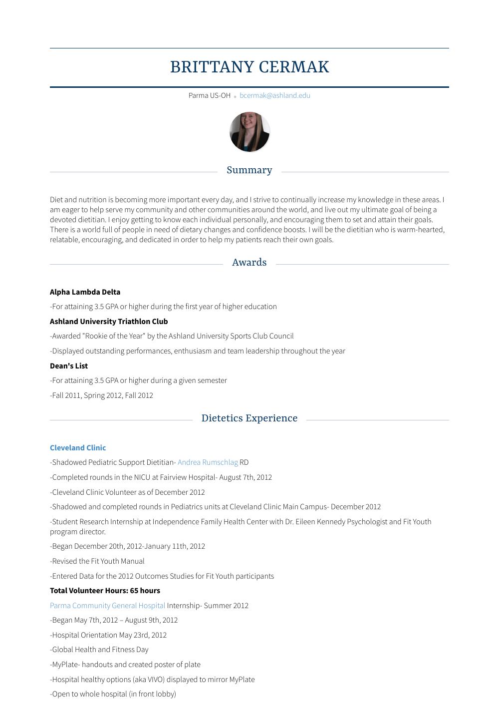 Lifeguard Resume Samples And Templates Visualcv