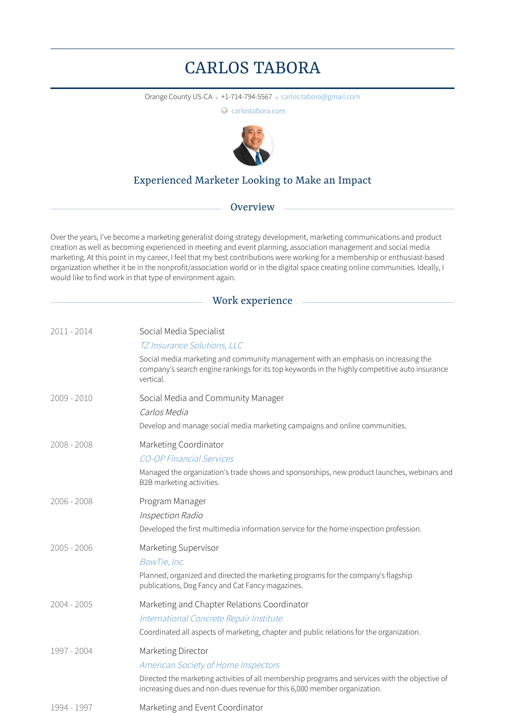social media specialist  resume samples and templates