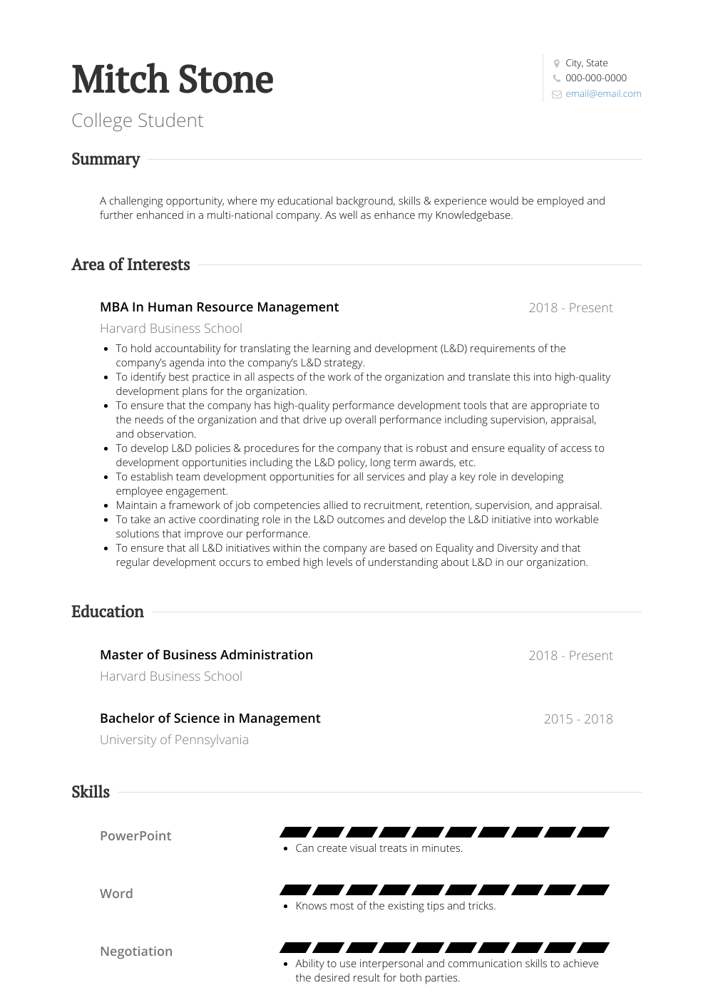 Resume Samples For College Student.College Student Resume Samples Templates Visualcv