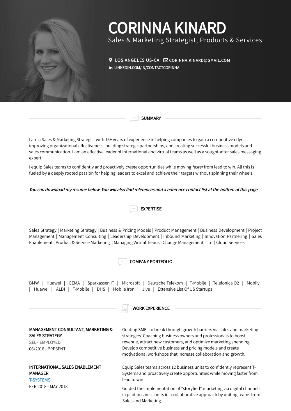 Engagement Manager Resume Sample