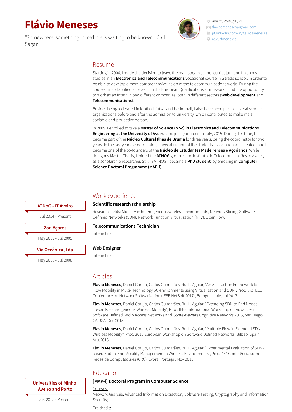 Research Scholar - Resume Samples and Templates | VisualCV
