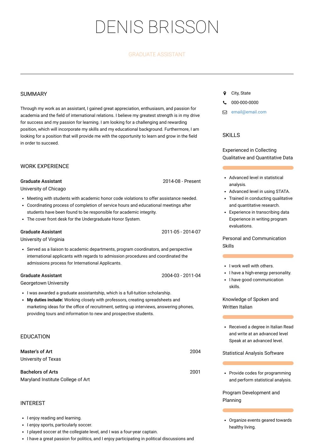 Documented essay plan