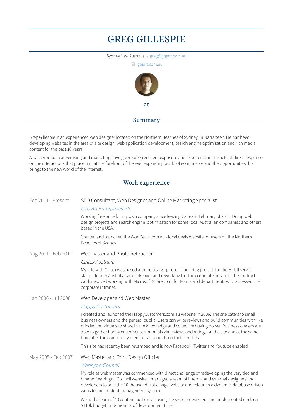 online marketing specialist  resume samples and templates
