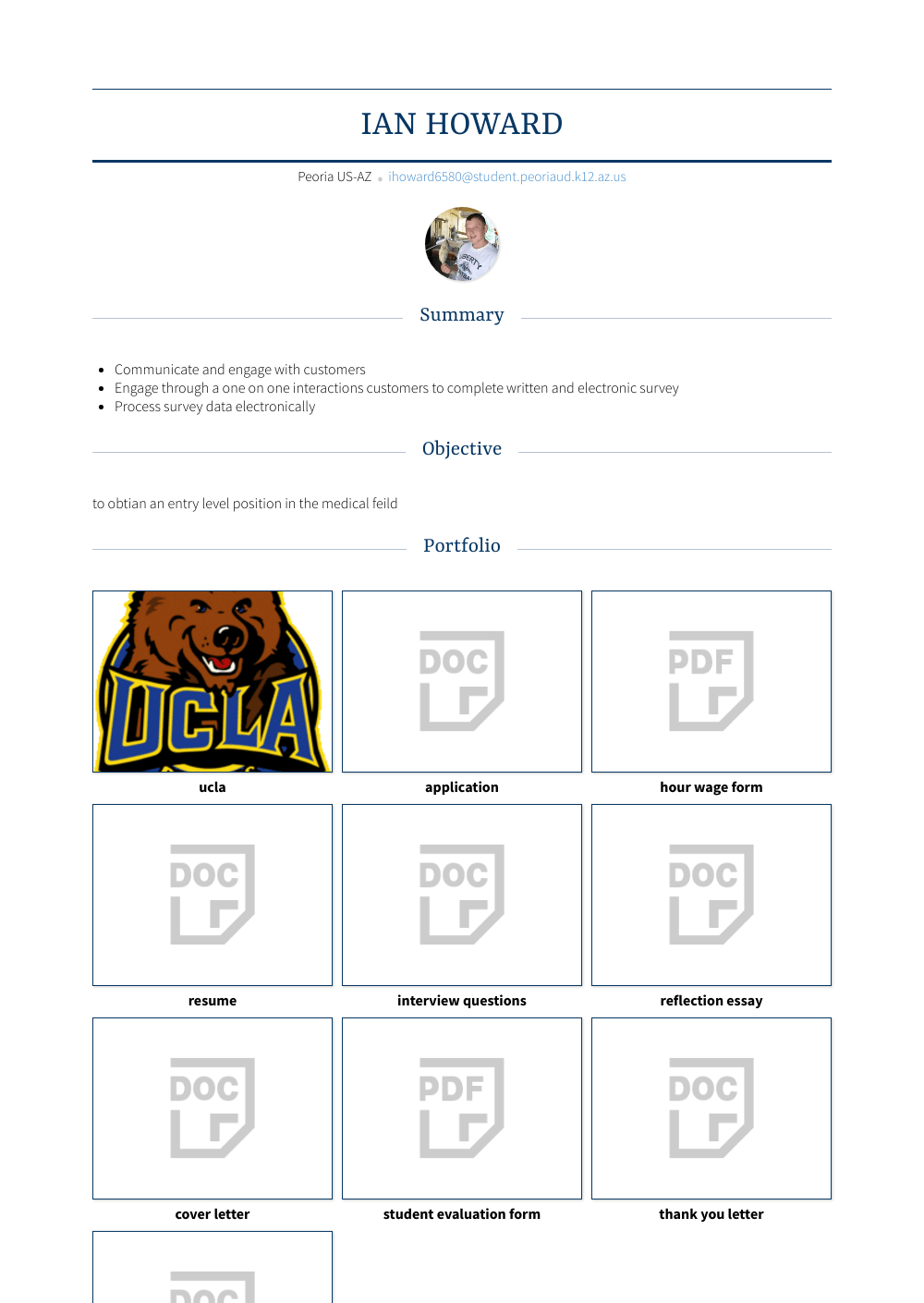 Zookeeper  Resume Samples   Templates   VisualCV