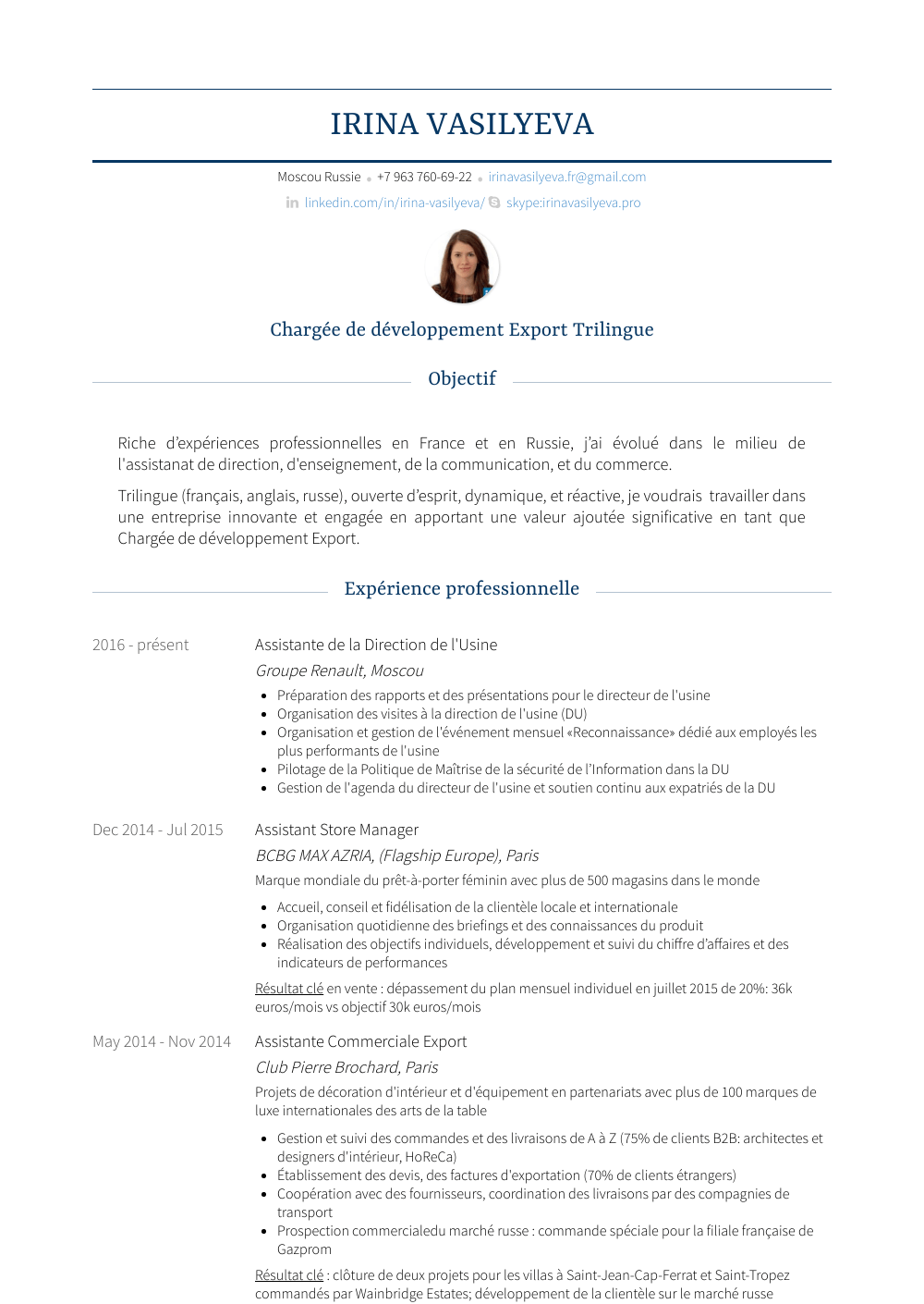 assistant store manager resume samples 1 resource for