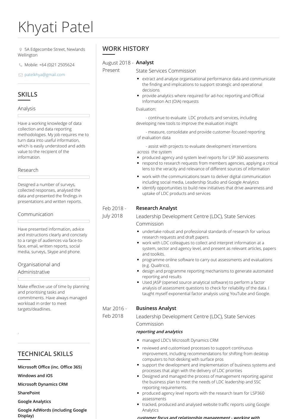 Marketing And Internship Coordinator Resume Sample and Template