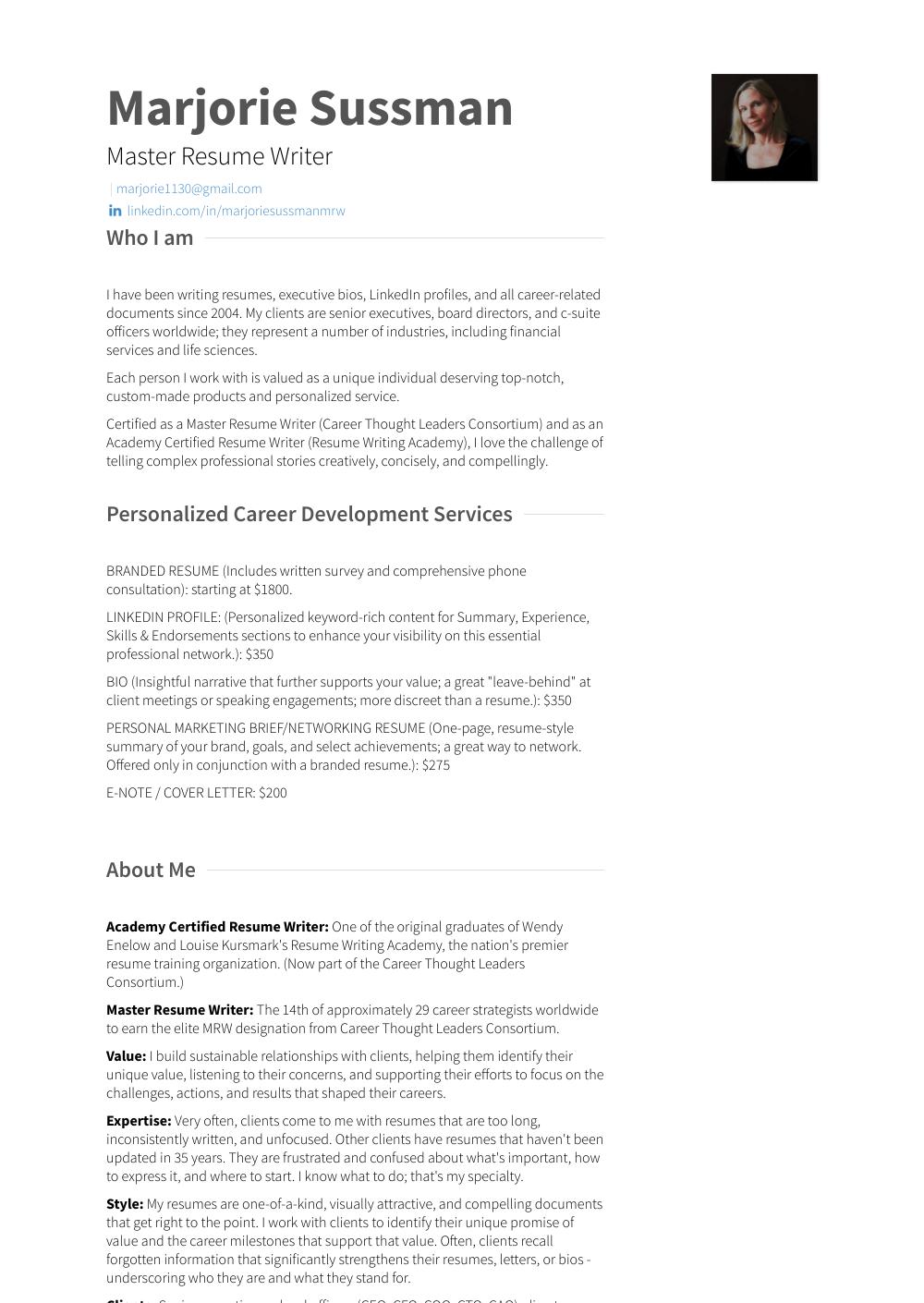 Resume Resume Sample