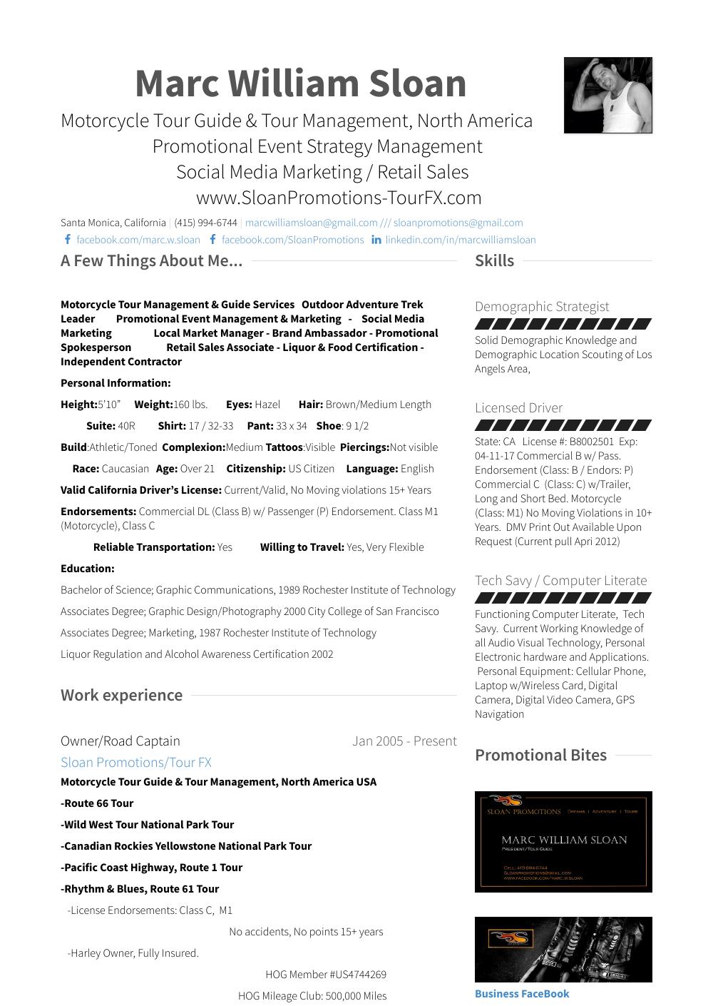 President/owner Resume Sample