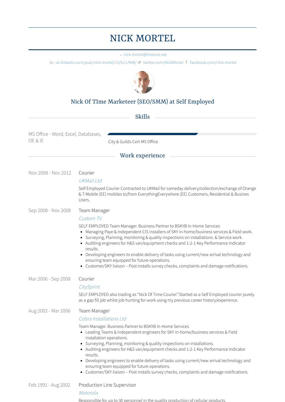 courier resume samples   1 resource for templates  u0026 skills