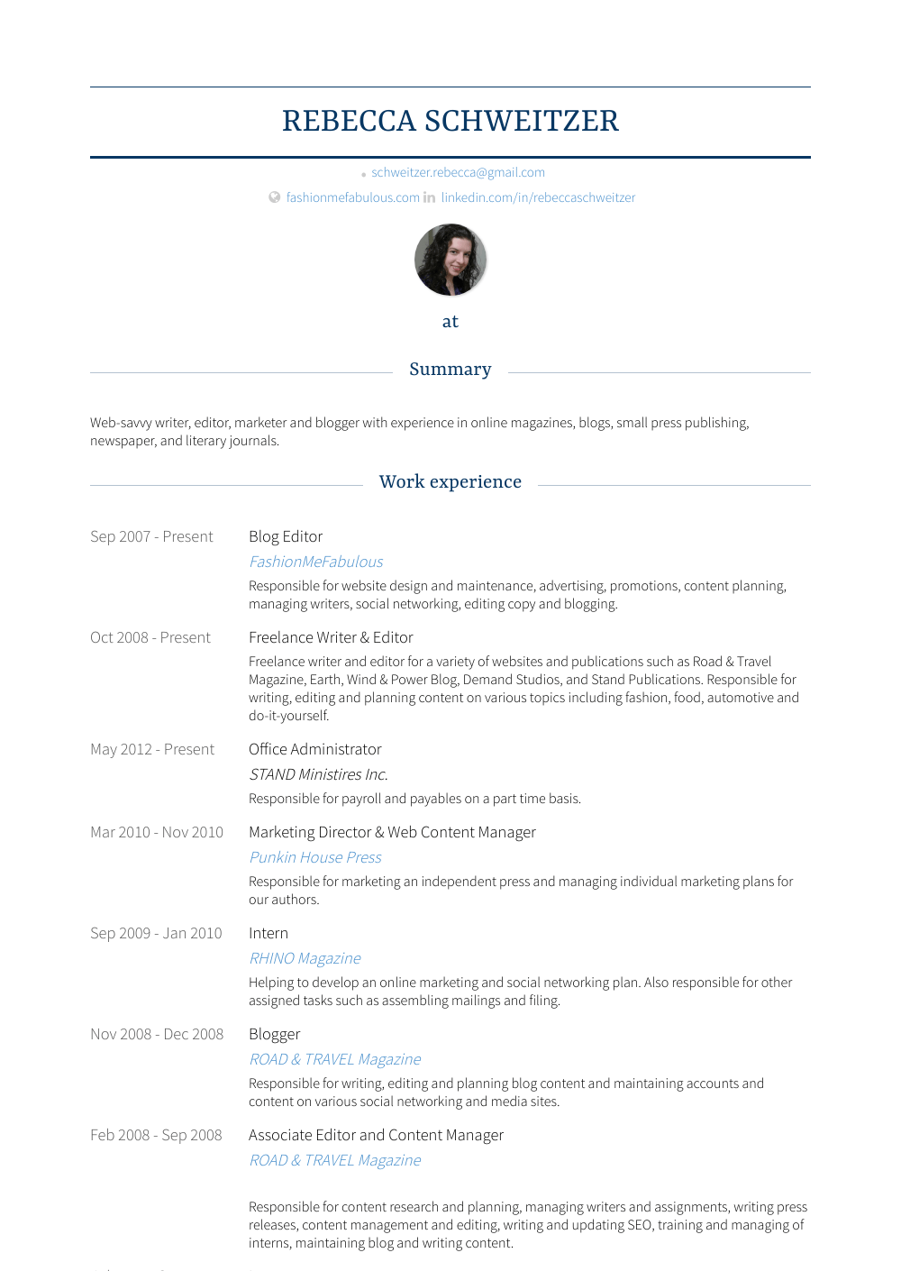 Office Administrator Resume Samples Templates Visualcv