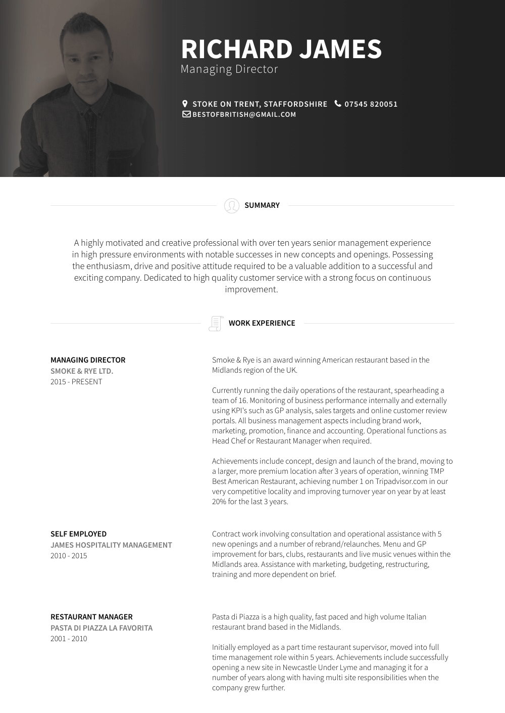 Warehouse Manager Resume Sample and Template
