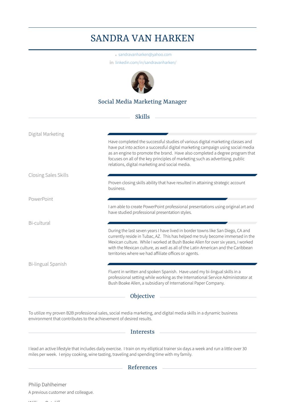 sales representative  resume samples and templates  visualcv