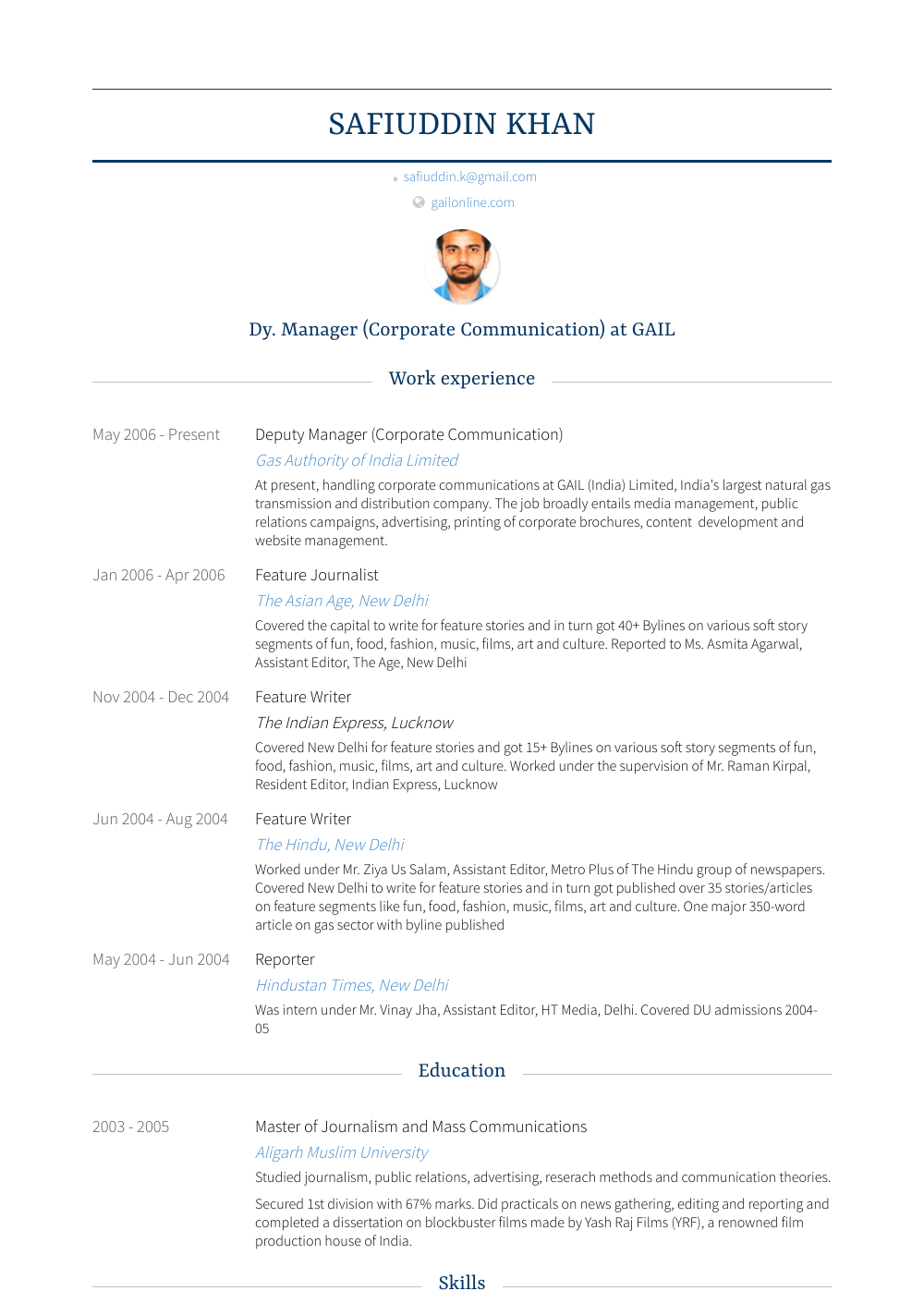 99 House Manager Resume