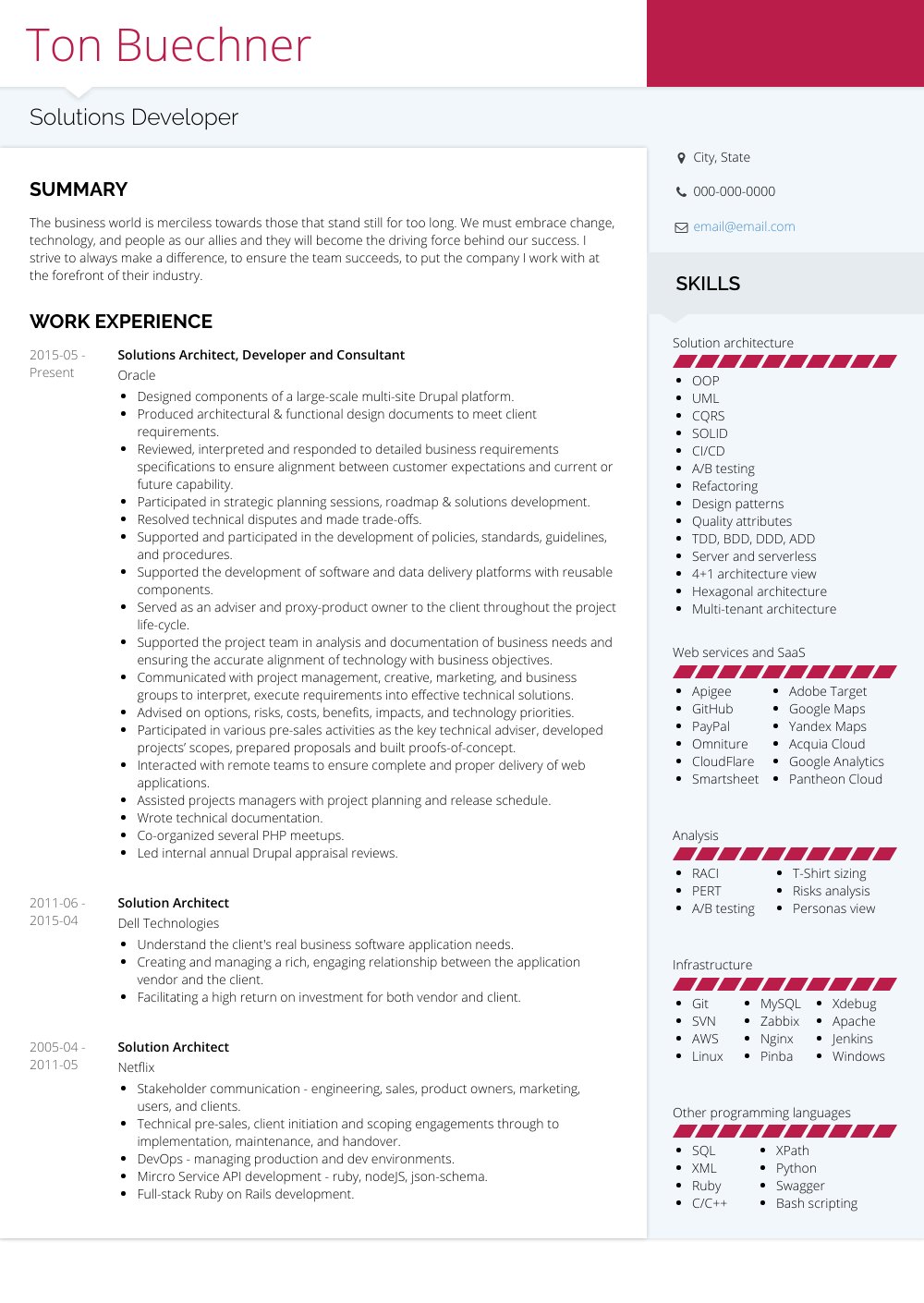 solution architect resume - Monza berglauf-verband com