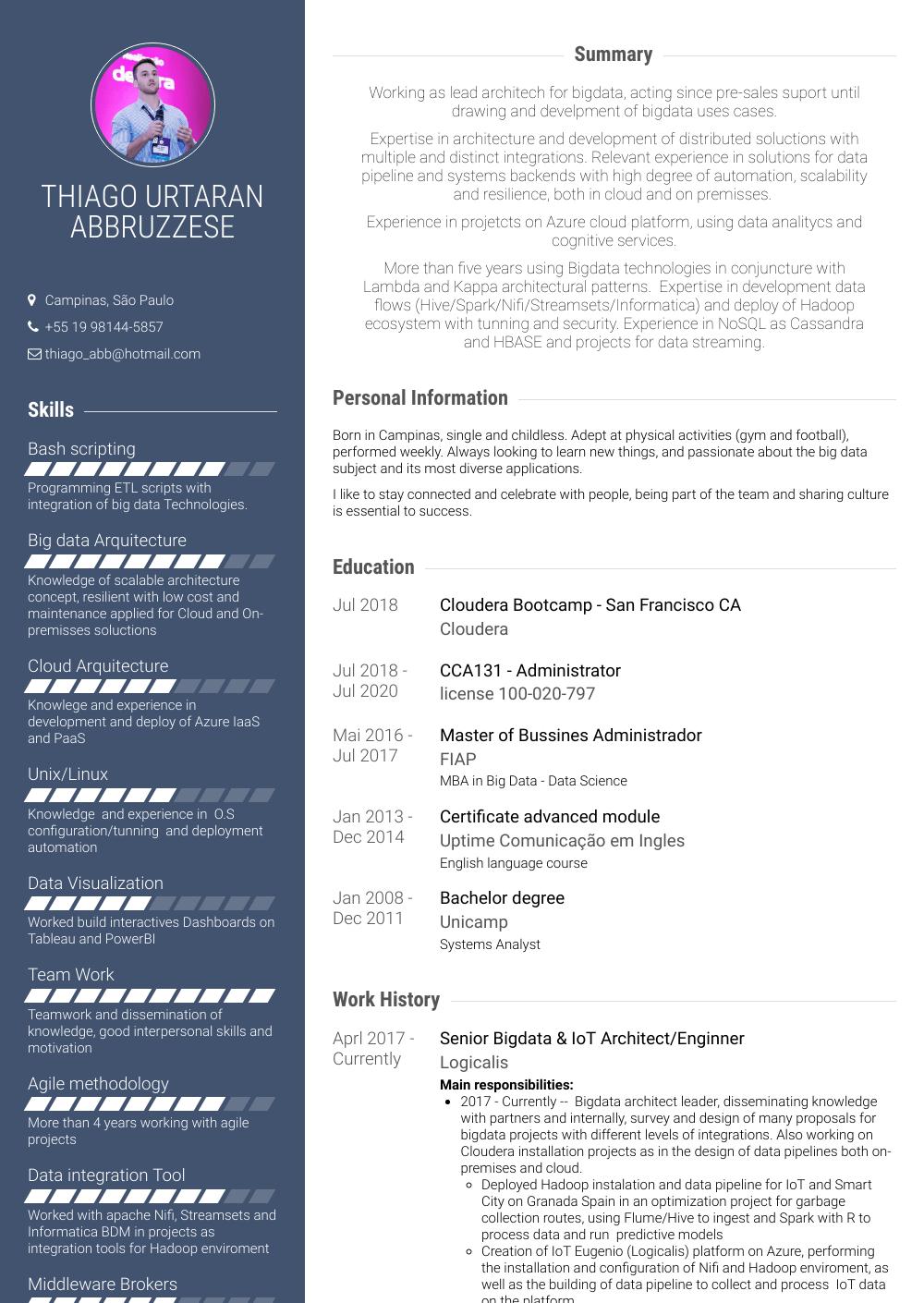 Systems Engineer - Resume Samples & Templates | VisualCV