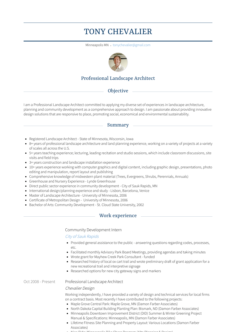 development intern