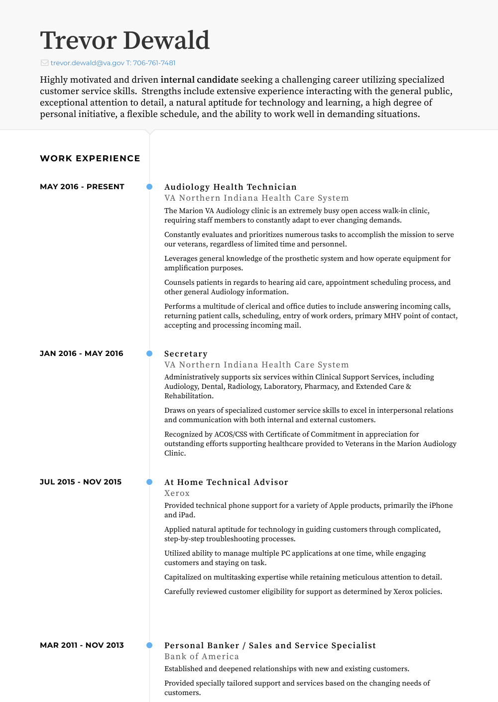 Personal Banker Resume Samples Amp Templates Visualcv