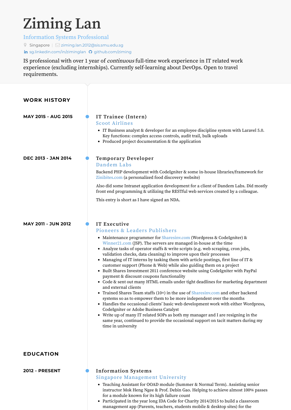 Trainee  Resume Samples  amp  Templates