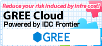 GREE Cloud Powered by IDC Frontier
