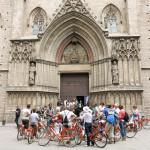 barcelona spain Santa Maria del Mar_383500489