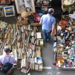 Flea market in Barcelona_368784398