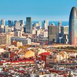Agbar Tower in Barcelona in Spain_299891315