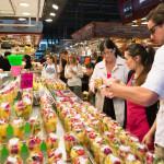 public market in the Ciutat Vella district of Barcelona_335621879