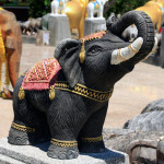 Ritual figures of elephants_214643863