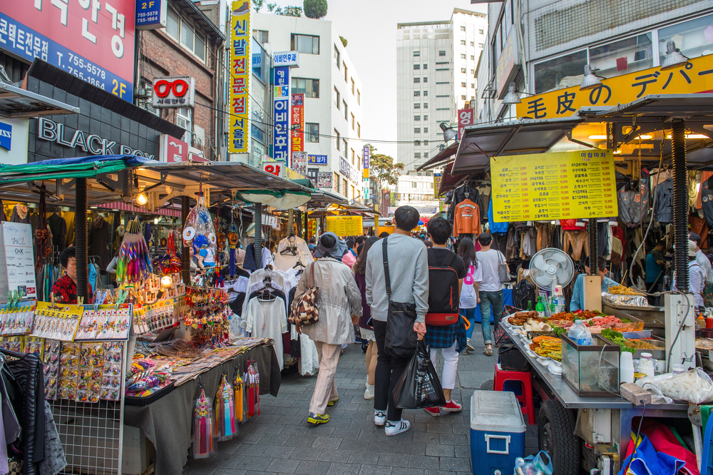 Namdaemun Market in Seoul_318616316