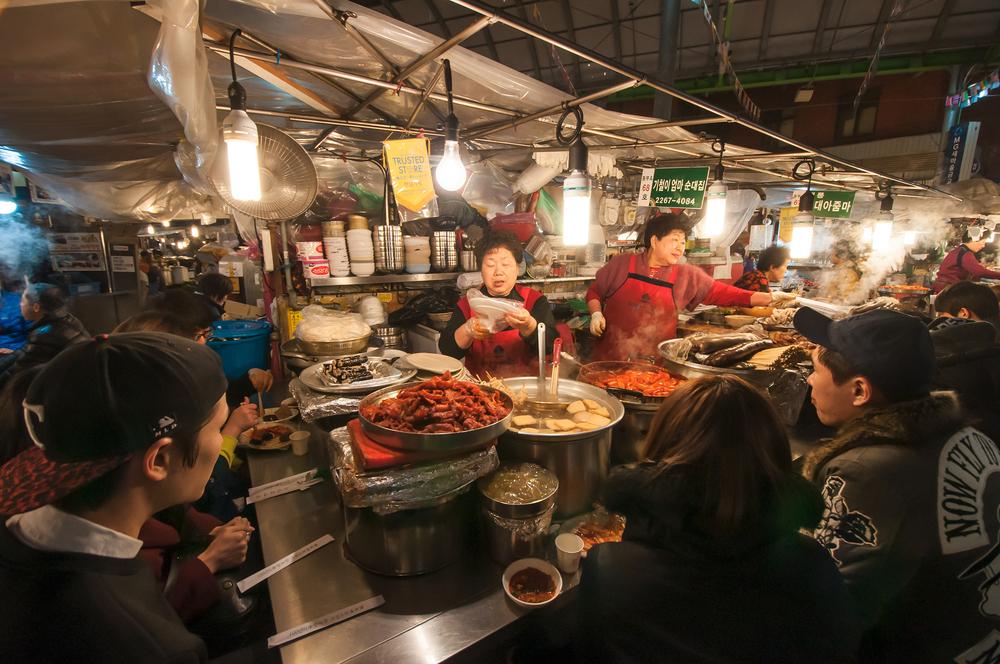 street food at Gwangjang Market_264305633