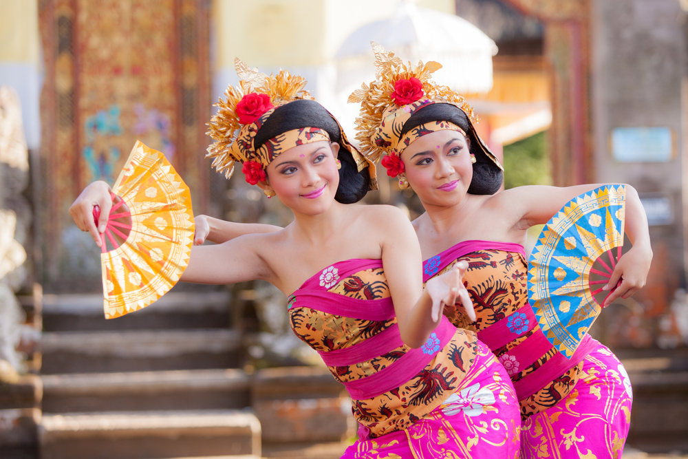 Indonesian dance at Ubud Palace Bali theater_294977324