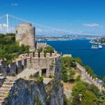 Rumeli Fortress at Istanbul Turkey_291314654
