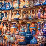 turkish ceramics on sale at the Grand Bazaar_243564946